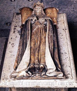 Charles VIII of Sweden - Carl's 16th century grave monument in Riddarholm Church