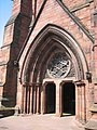 Carlisle Cathedral, main entrance - geograph.org.uk - 2936.jpg