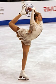 Carolina Kostner at 2009 World Championships.jpg