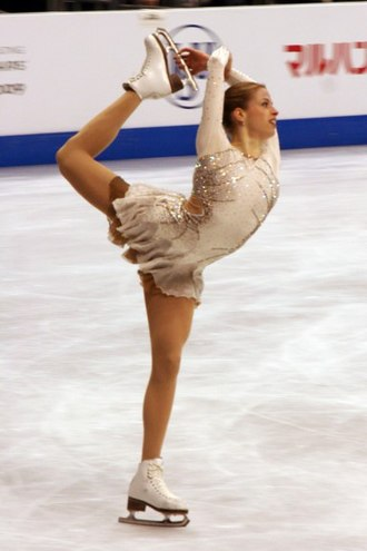 Single skating - Image: Carolina Kostner at 2009 World Championships