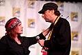 Carrie Fisher & David Mirkin (7601381726).jpg