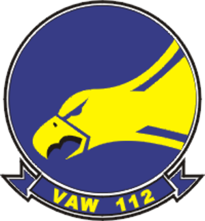 VAW-112 - Image: Carrier Airborne Early Warning Squadron 112 (US Navy) patch