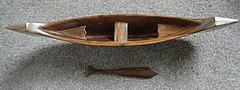 Carved Longboat