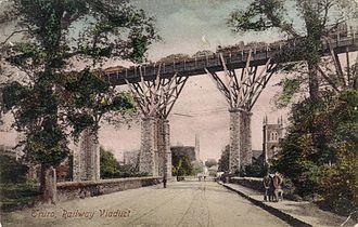 Truro railway station - Carvedras viaduct