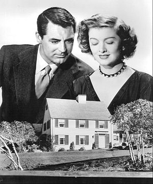 Mr. Blandings Builds His Dream House - Promotional still for film with Cary Grant and Myrna Loy
