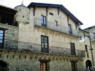 Casa d'Areny-Plandolit - Image: Casa d'Areny Plandolit (Ordino) 1