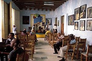 Casa de la Trova, a local musical house