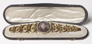 Case for a Bracelet with a Portrait Miniature (see NMB 2349a-b)