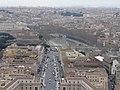 Castel S. Angelo visto dal Cupolone - panoramio.jpg