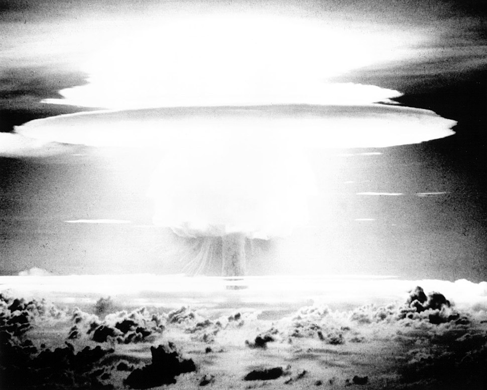 Castle Bravo (black and white)