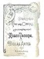 Catálogo de las obras expuestas en el Museo Nacional de Bellas Artes - MNBA (Argentina).pdf