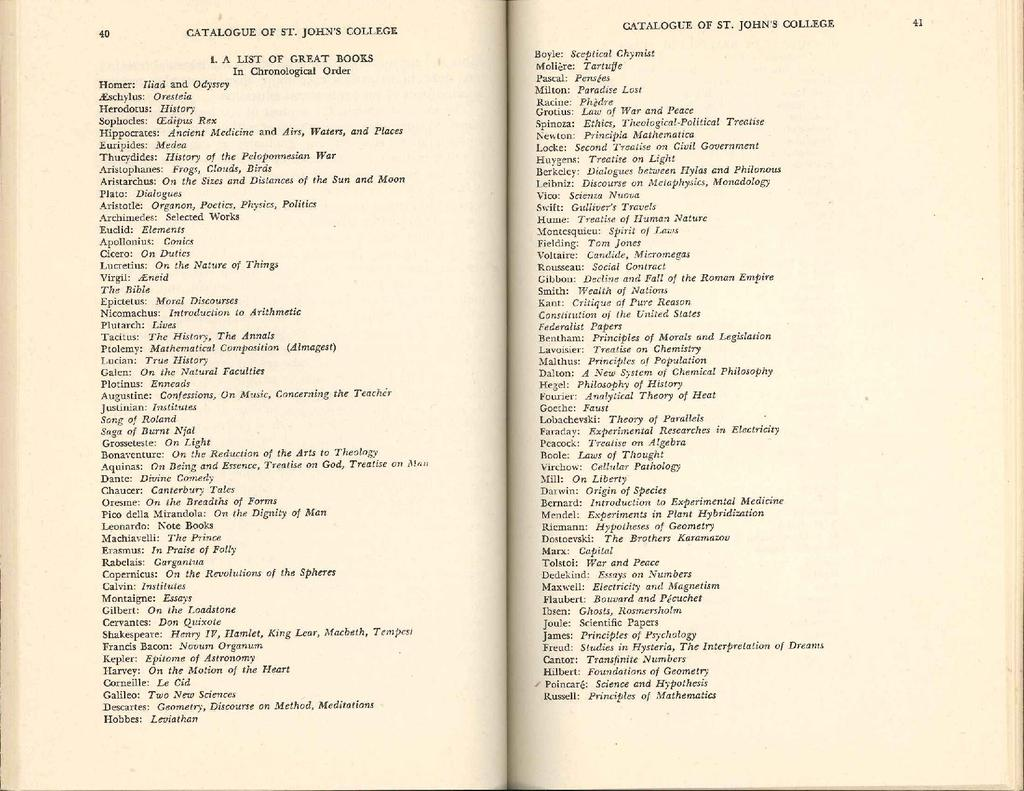 Pagecatalogue Of St Johns College 1945pdf15 Wikisource The