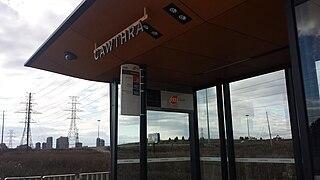 Cawthra station Mississauga Transitway Station