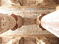 Ceiling of Temple of Hathor.JPG