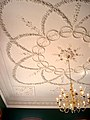 Ceiling of the Parlour at Kings Weston House designed by Robert Mylne and plasterwork executed by Thomas Stocking in the 1760s.jpg