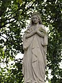 Cemetery in Wisznice (closed) – Statue of Virgin Mary - 02.jpg