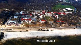 Gulfport Veterans Administration Medical Center Historic District 48-acre (19-ha) compound located in Gulfport, Mississippi