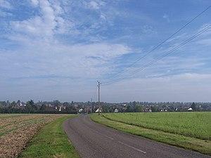 Cernay-la-Ville - Cernay-la-Ville seen from the road to La Celle-les-Bordes