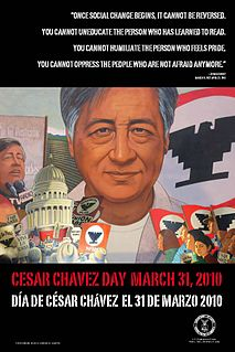 Cesar Chavez Day US commemorative holiday