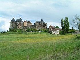 Le château de Biron