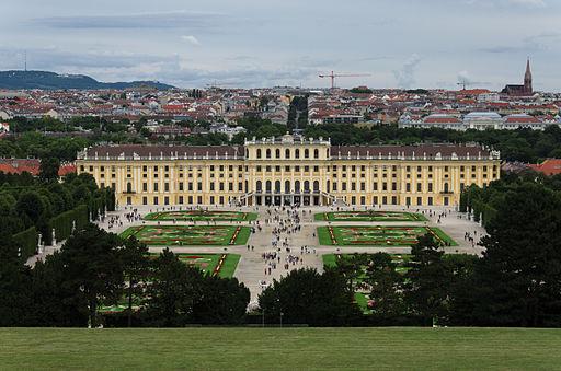 Schloss Schönbrunn bei Wien, Château de Schönbrunn Vienne