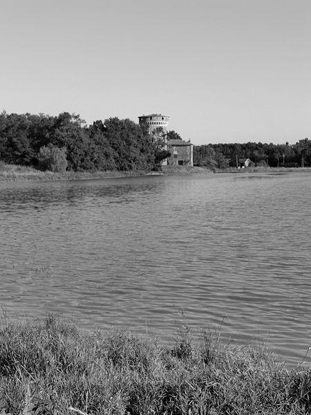 Château du Plantay, noir et blanc