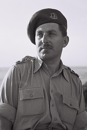 Chaim Herzog - Chaim Herzog in the IDF, 1954