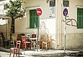 Chairs and Signs, Monastiriki, Athens (3384254164).jpg