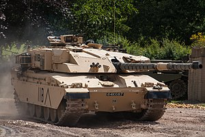 Challenger 1 - Challenger 1 at Tankfest 2009 at The Tank Museum