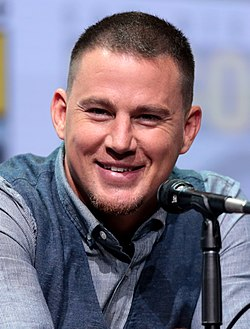 Channing Tatum San Diegon Comic-Conissa 2017.