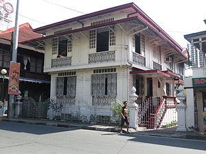 Santa Elena, Marikina - The Old Chanyungco House facing the street of J.P Rizal.