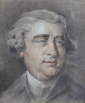 Samuel Cotes - Charles James Fox, pastel portrait by Samuel Cotes