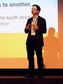 Charles Mok, Keynote, Wikimania 2013.JPG