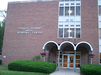 Olivet College - Charles Stewart Mott Academic Center, which is one of three buildings that houses the college's classrooms.