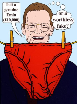 Contemporary art - Charles Thomson. Sir Nicholas Serota Makes an Acquisitions Decision, 2000, Stuckism