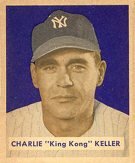 Charlie Keller American baseball player and coach