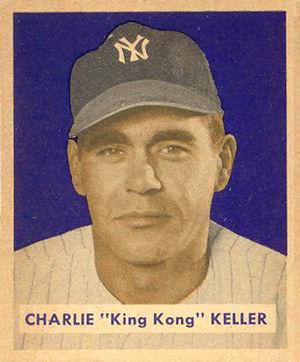 Charlie Keller - Image: Charlie Keller 1949bowman