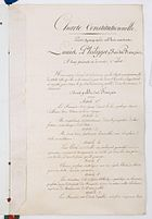 Charte constitutionnelle de 1830 Page 4 - Archives Nationales - AE-I-10-11.jpeg