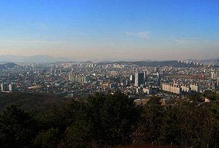 Dongnam-gu Non-autonomous District in Hoseo, South Korea