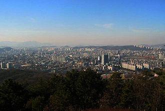 Cheonan - Cheonan from Taejosan