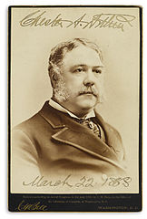 Chester A Arthur Cabinet Card by CM Bell, 1882.jpg