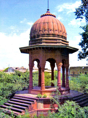 Chhatri - Memorial Chhatri of Rana Udaybhanu Singh at Dholpur