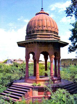 Dholpur - Chhatri of Rana Udaybhanu Singh at Dholpur