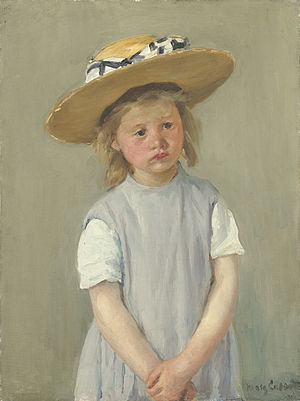 Child in Straw Hat (1886)