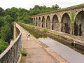 Chirk aqueduct and viaduct - geograph.org.uk - 226947.jpg