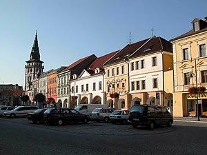Chomutov - Image: Chomutov square