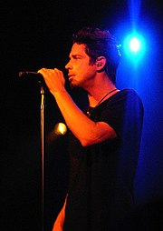 Chris Cornell live 2007 in Amsterdam; Quelle: de.wikipedia.org