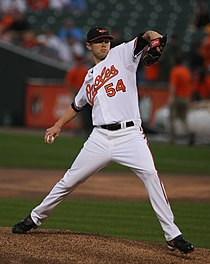 Chris Tillman on July 29, 2009.jpg