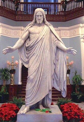 Christus (statue) - Image: Christ JHM