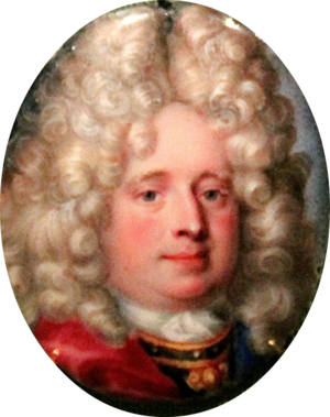 Christian Detlev Reventlow - Image: Christian Ditlev Reventlow (1671 1738), Danish general